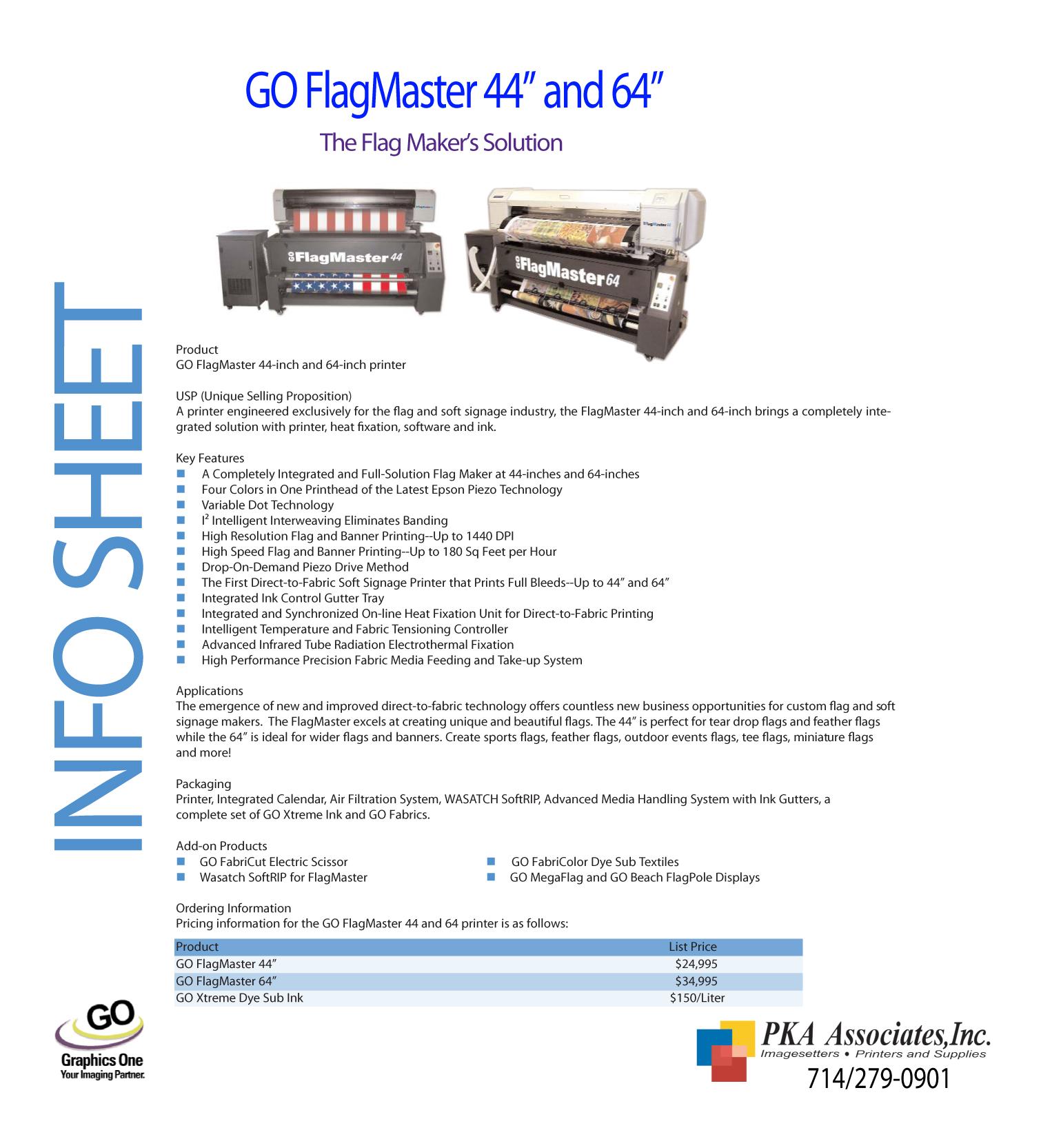 GO FlagMaster 44_64 EU Info Sheet