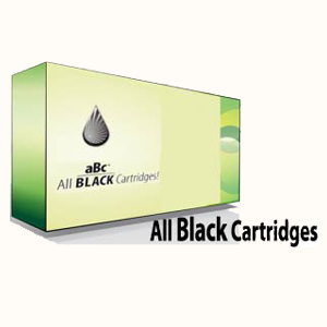 All Black Inkjet Cartridges