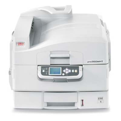 OKI ProColor Pro920wt laser printer for fabric